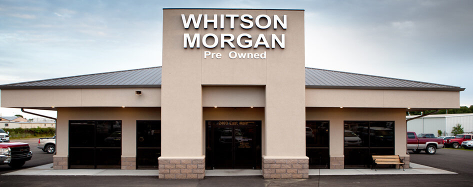 Whitson-Morgan Pre-Owned Banner