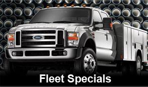 Fleet Vehicle Specials