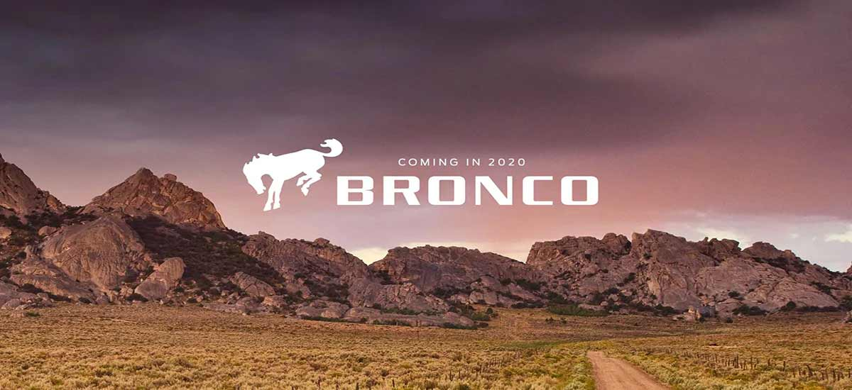 2020 Ford Bronco Header
