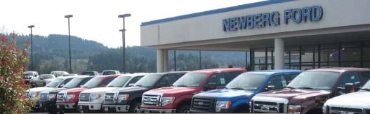 Newberg Ford Sales Hours