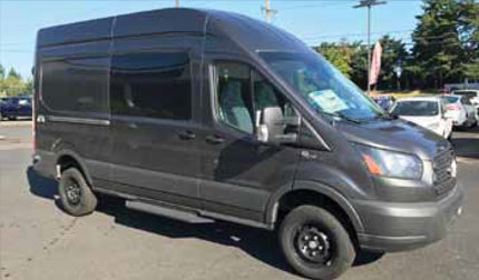 Ford Commercial Vans 4x4 Vans Serving Oregon And Washington