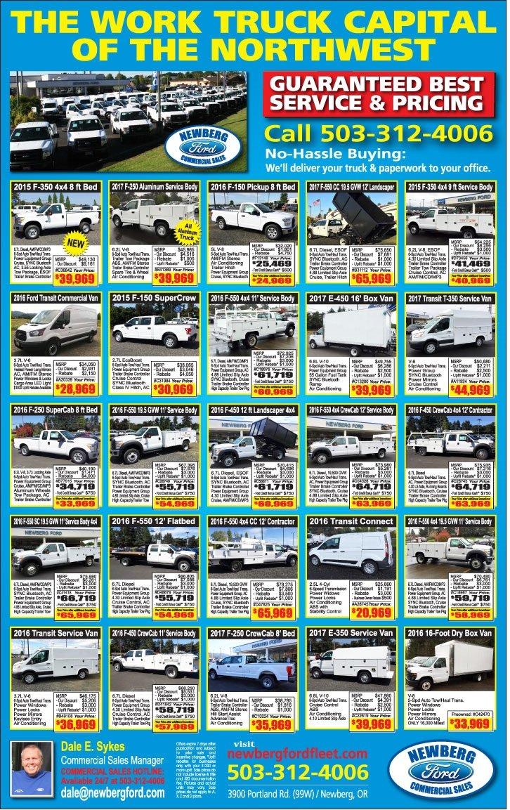 Commercial Fleet Specials