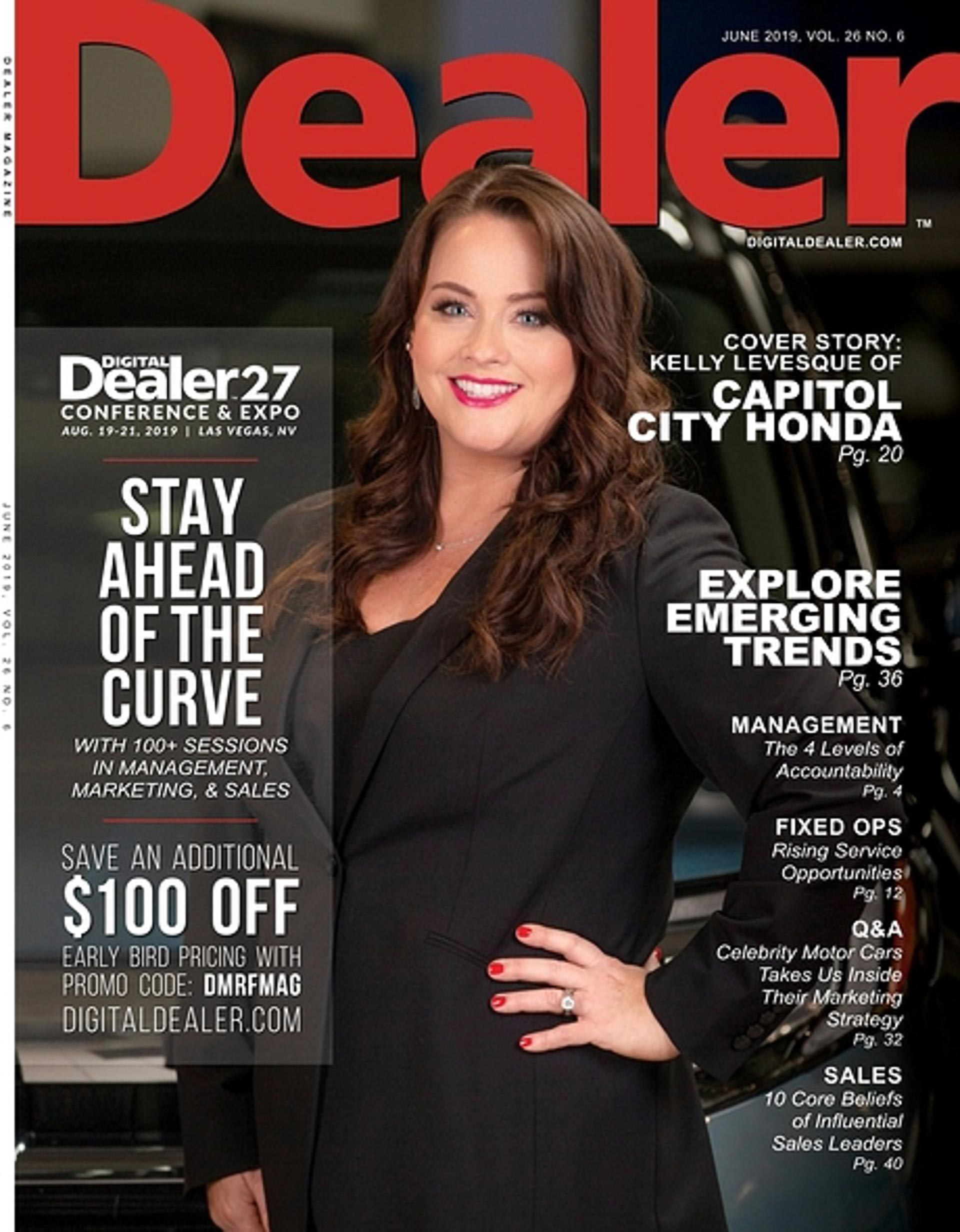 Capitol City Honda in Dealer Magazine 1