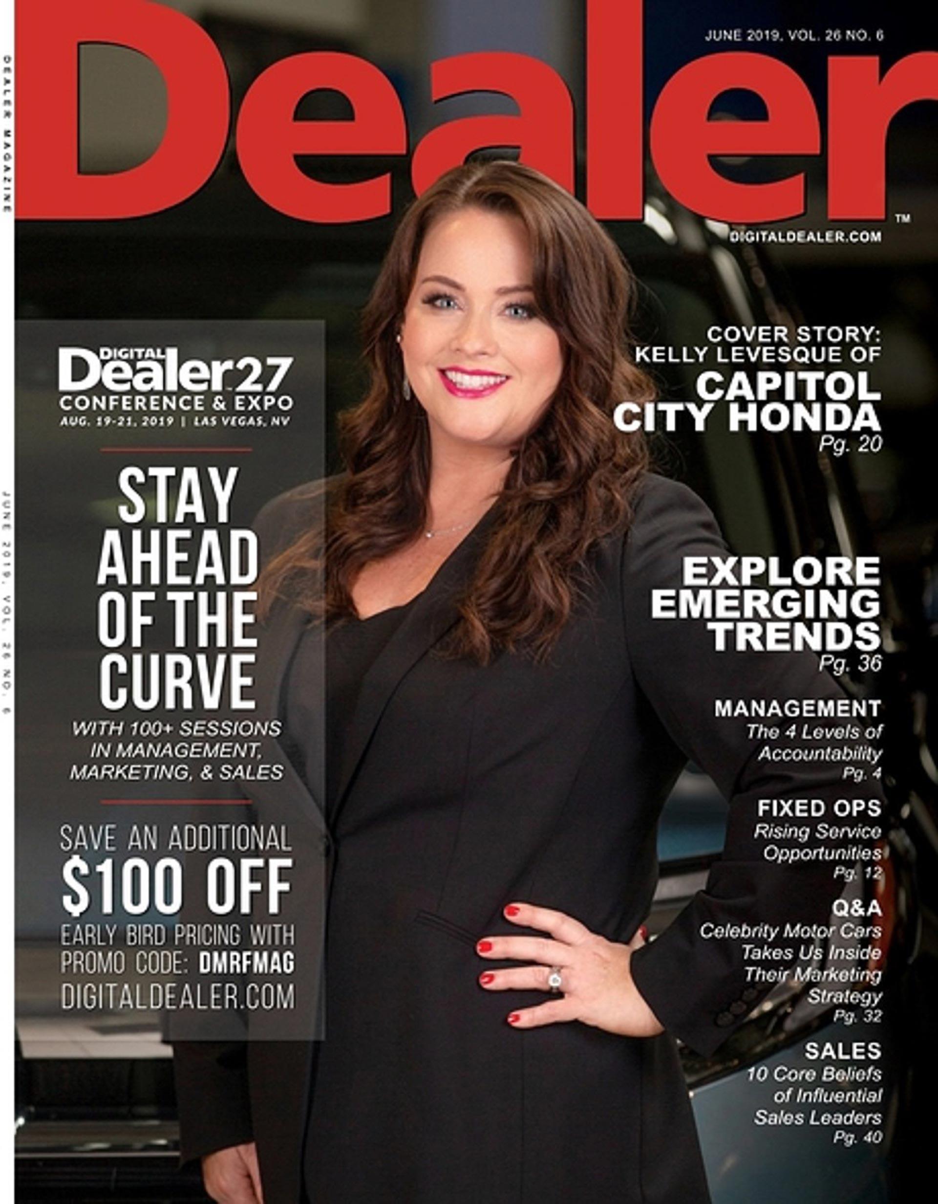 Capitol City Honda in Dealer Magazine 1