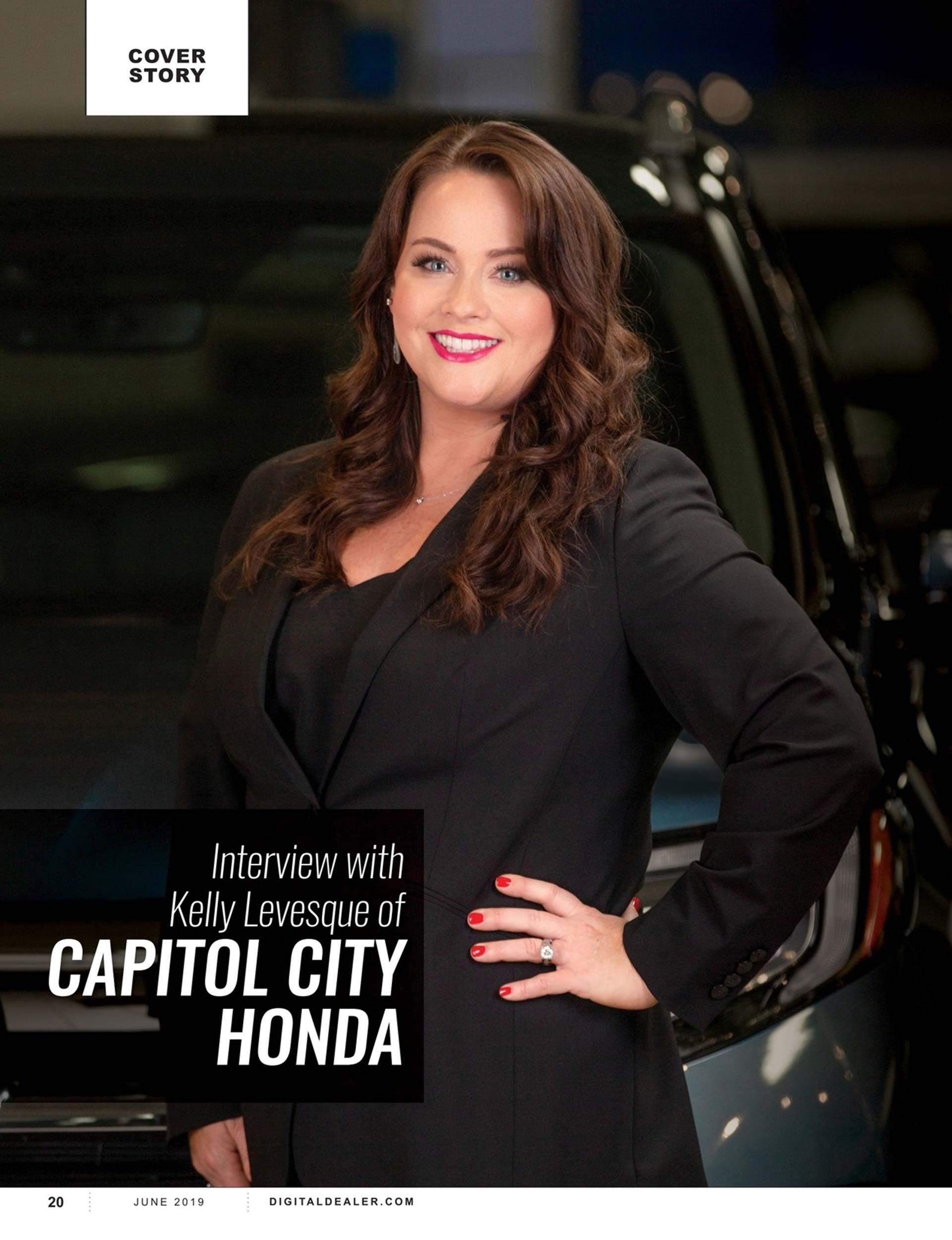 Capitol City Honda in Dealer Magazine 2
