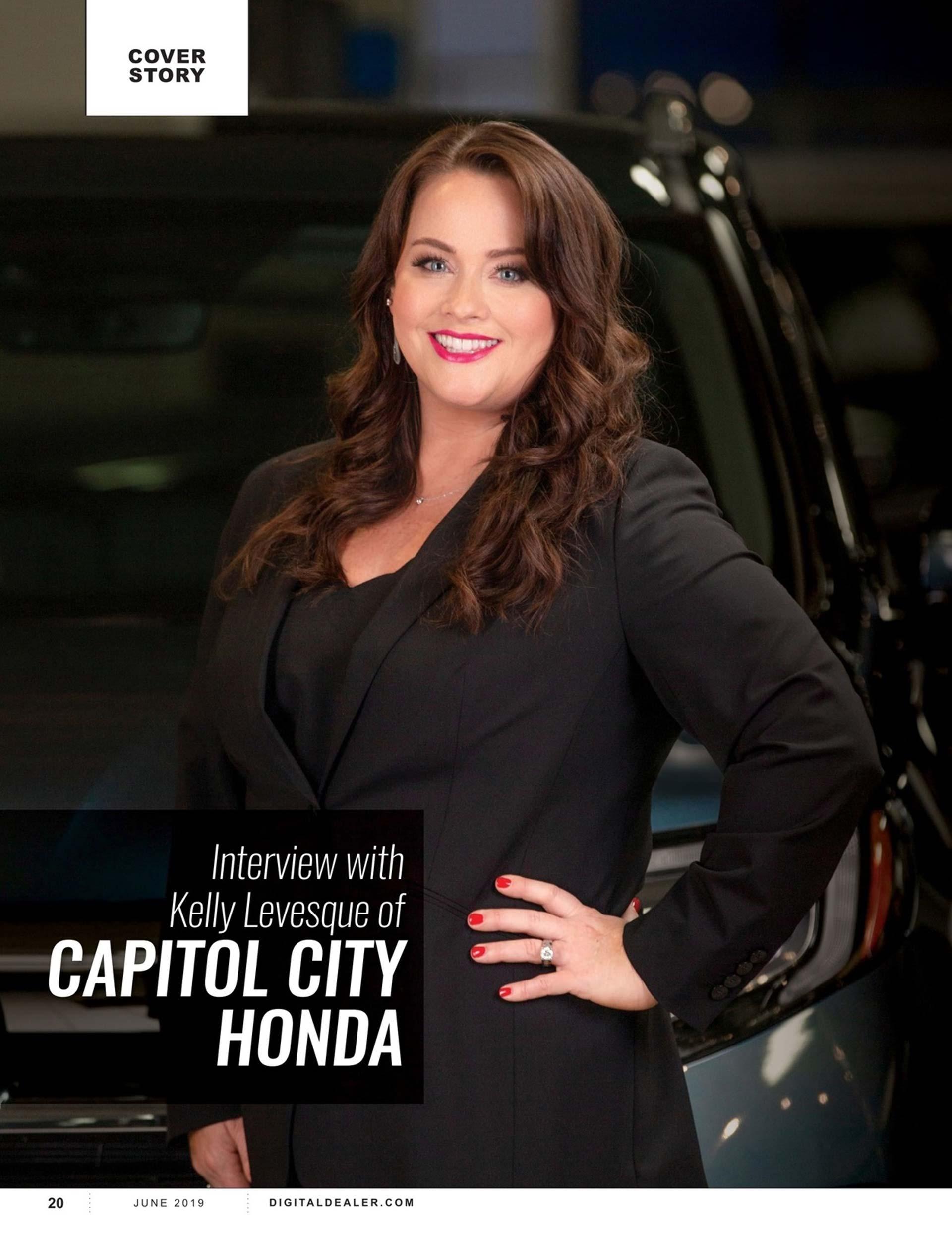 Capitol City Honda in Dealer Magazine 2