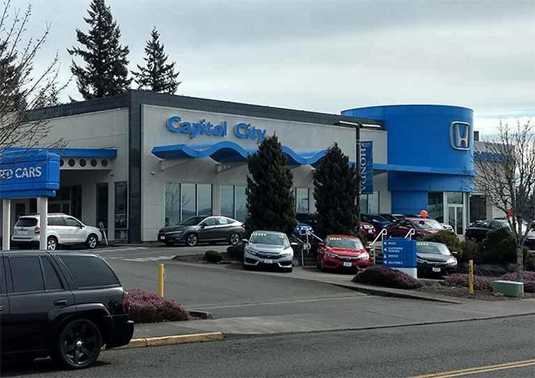Capitol City Honda New Car location
