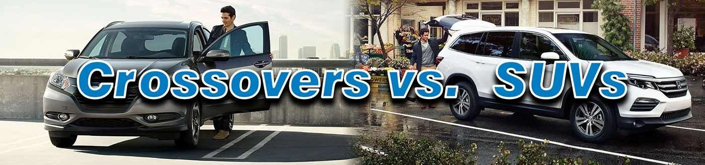 Crossovers vs. SUVs