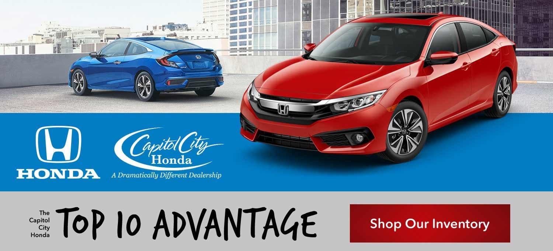 Capitol City Honda Top 10 Advantage