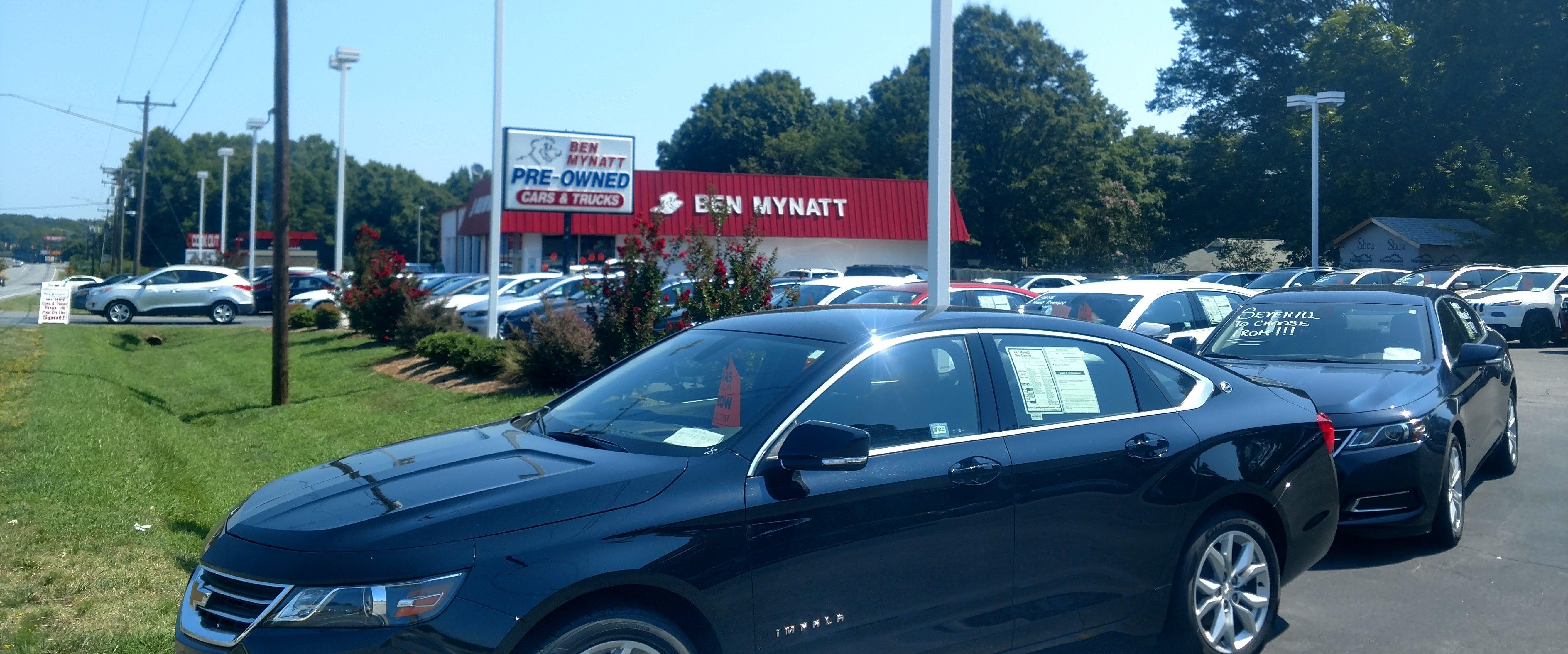 Ben Mynatt Pre Owned | Used Car, Truck U0026 SUV Sales In Kannapolis, NC