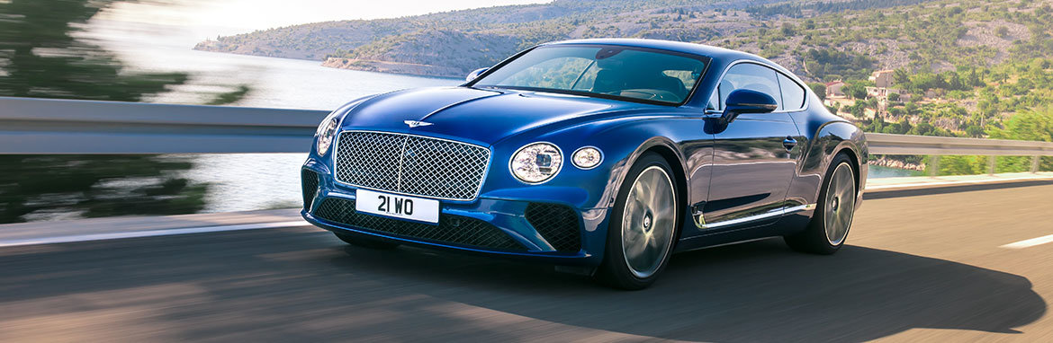 Bentley Continental GT Banner