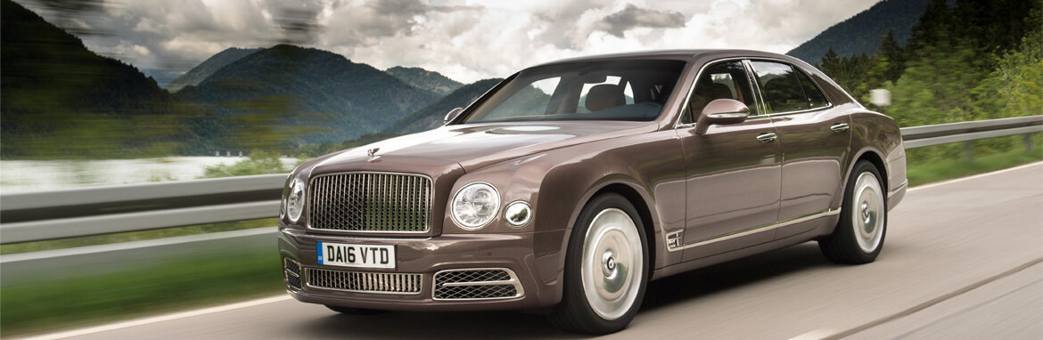 Bentley Mulsanne Banner