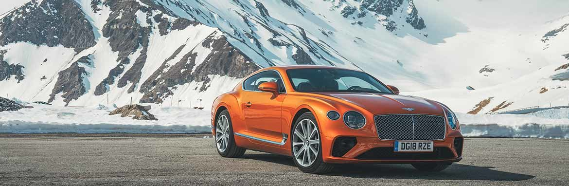 Bentley New Continental GT Banner