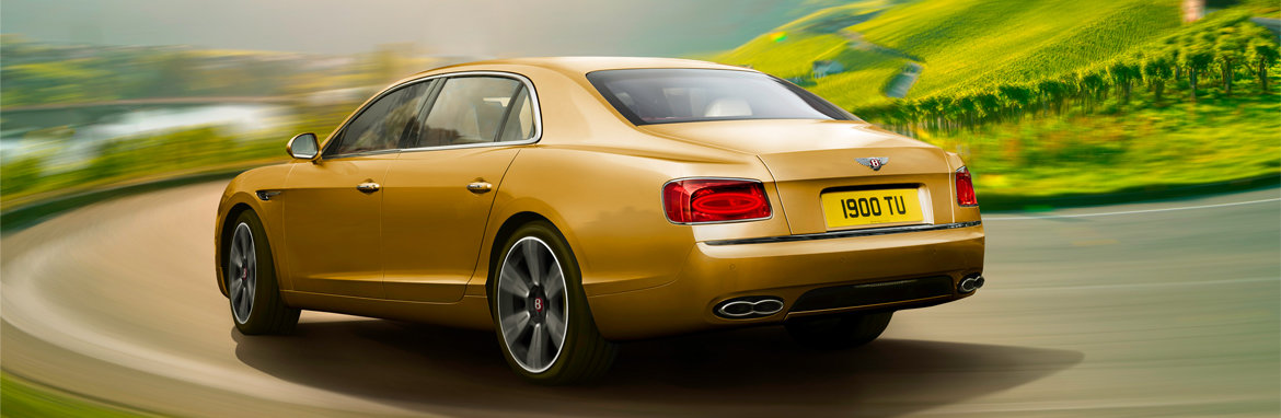 Bentley Flying Spur Banner