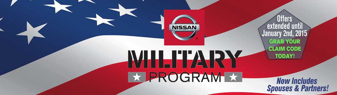 Military Program extended until January 2nd