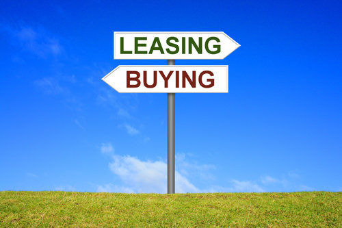 buying vs. leasing