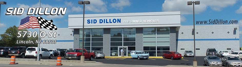 used car dealer in lincoln ne sid dillon lincoln 39 o 39 street. Black Bedroom Furniture Sets. Home Design Ideas