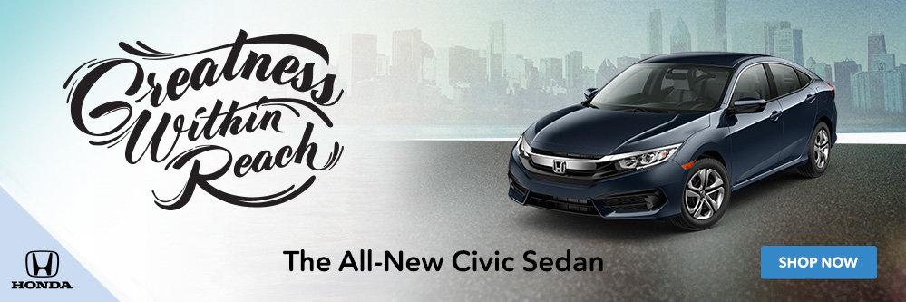 2016 Civic at Royal Honda