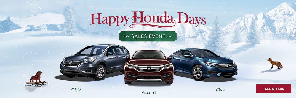 Happy Honda Days at Royal Honda