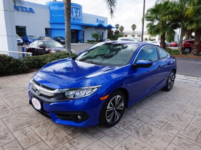 Blue Civic EX at Royal Honda