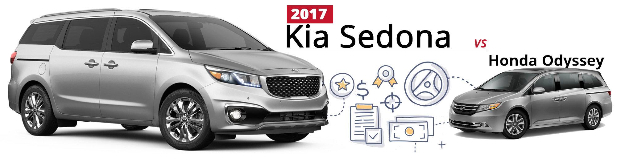 Kia Sedona vs. Honda Odyssey