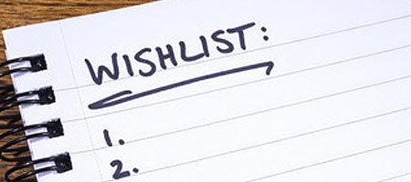 Make a Wish List