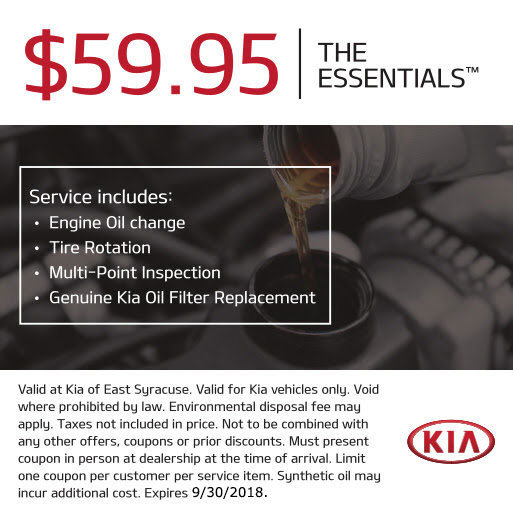 The Essentials Service Coupon