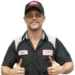 Mikey Hunt - Kia Service Tech.