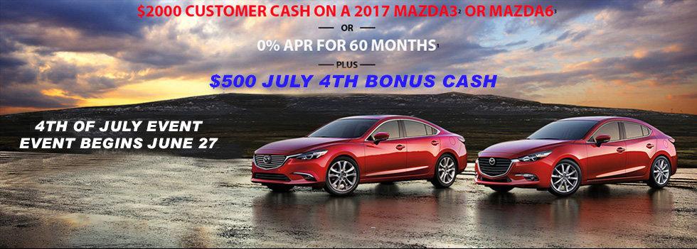 Mazda Memorial Day Event