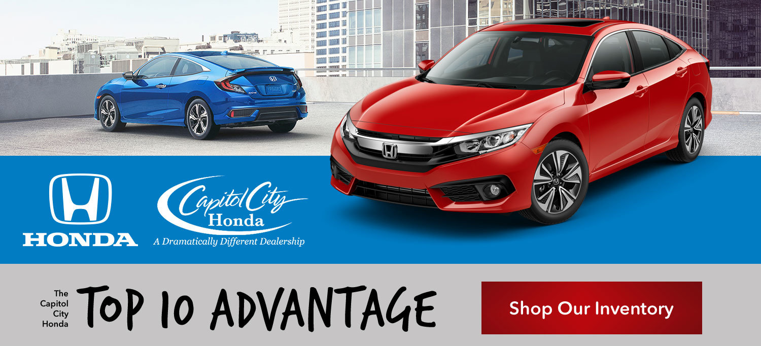 Capitol City Honda Top Ten Advantage