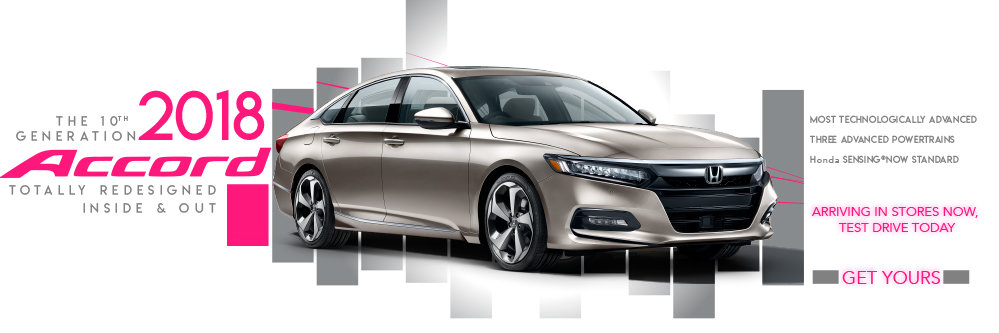 2018 Accord Inventory