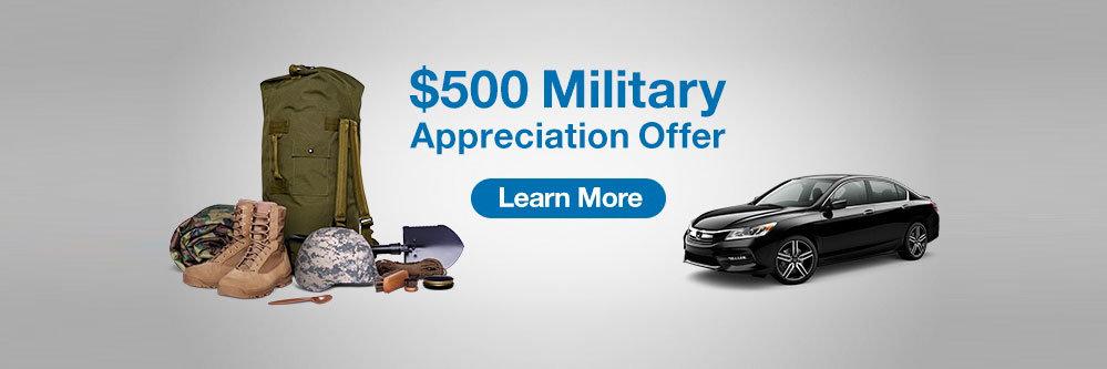 $500 Military Cash