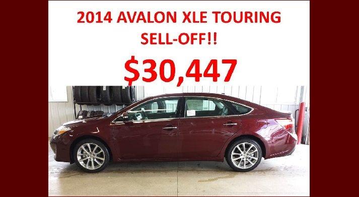 2014 Avalon XLE Touring