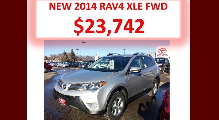 2014 Rav4 XLE FWD