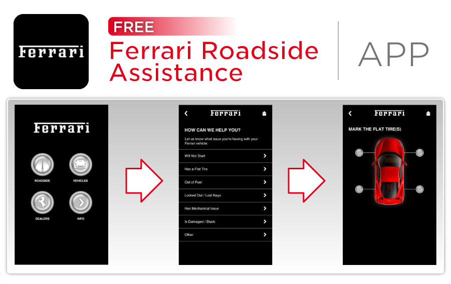 Wide World Ferrari Ferrari Roadside Assistance