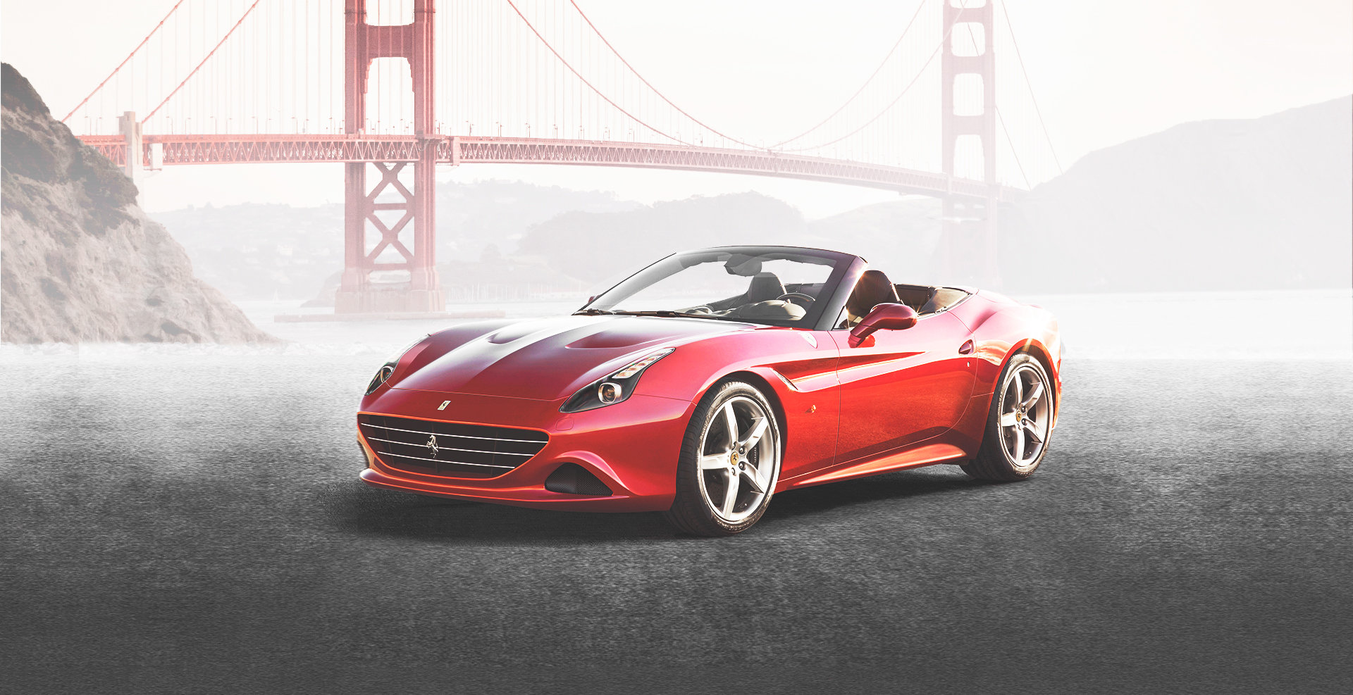 Wide World Ferrari Banner