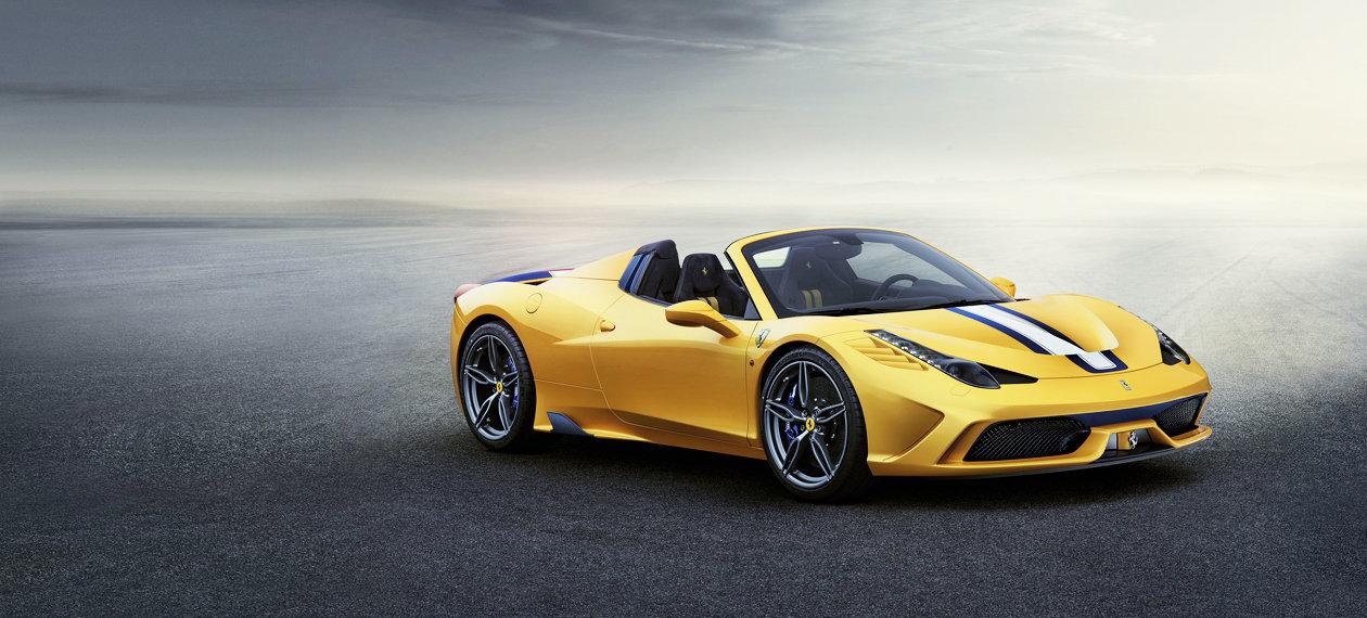 Ferrari 458 Speciale A Banner