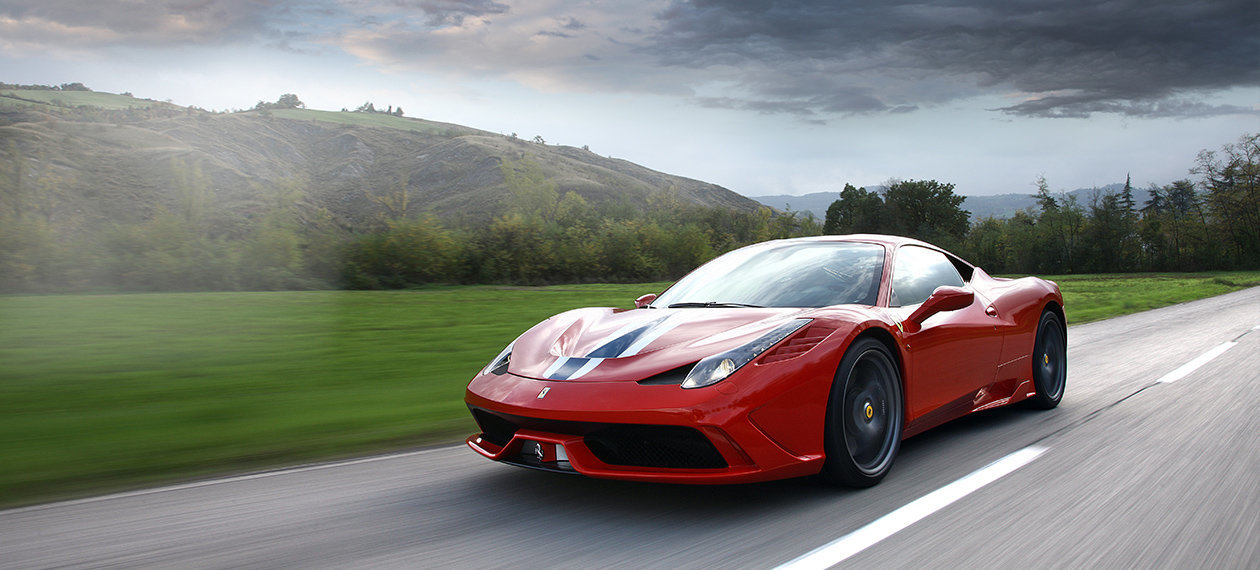 Ferrari 458 Speciale Banner