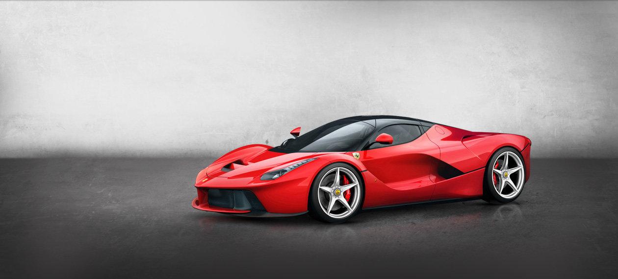 Ferrari Laferrari Banner