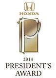 President's Award 2014