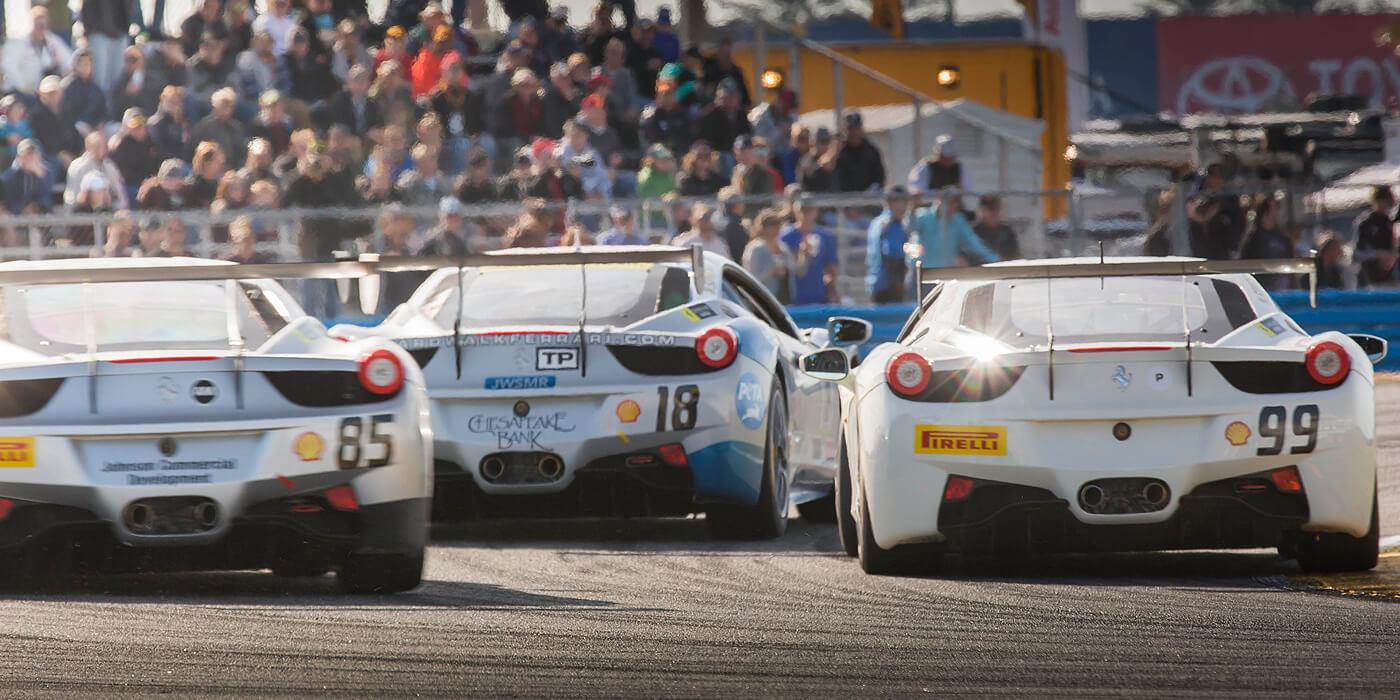 Race Schedule Banner
