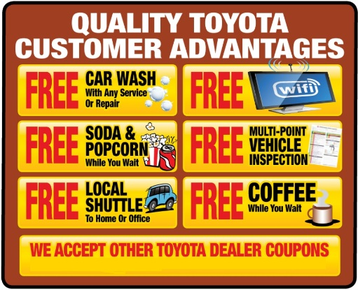 Toyota dealer parts coupons