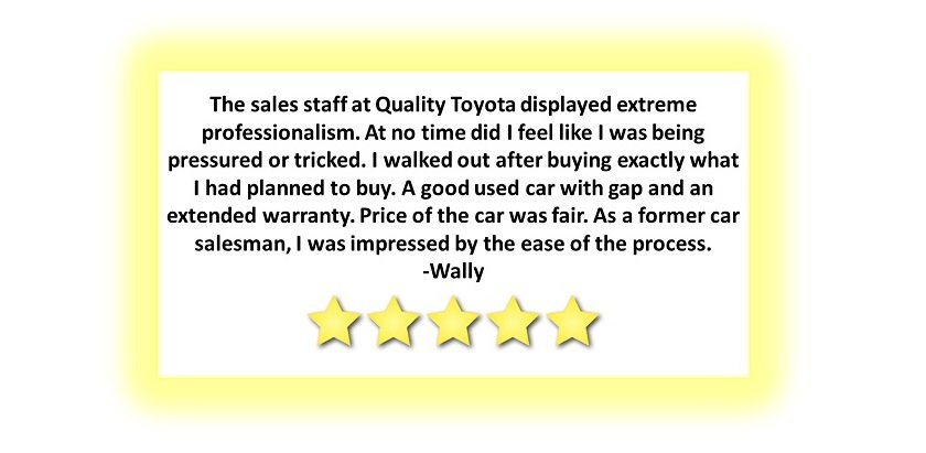 Quality Toyota Reviews
