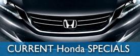 Current Honda Specials