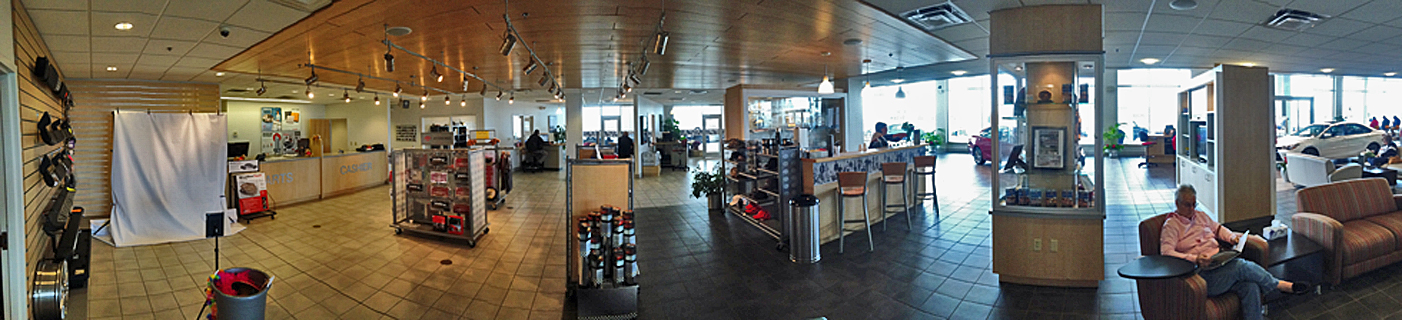 Parts & Service Show Room