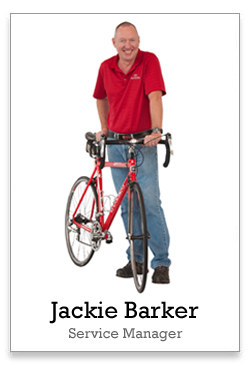Jackie Barker is my Service Advisor