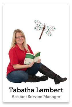Tabatha Lambert is my Service Advisor