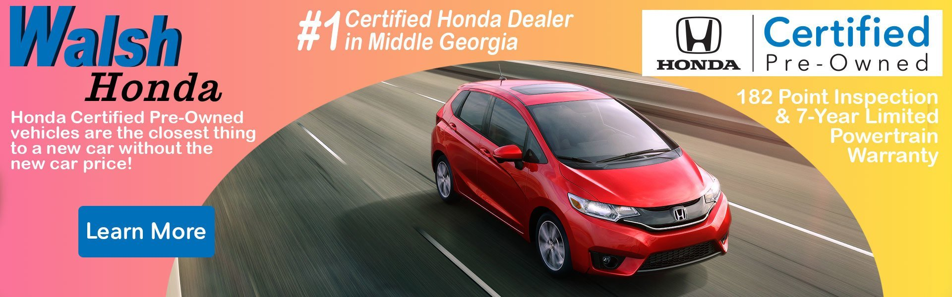 Walsh Honda | New U0026 Used Car, SUV U0026 Truck Sales | Macon, GA Honda Dealer