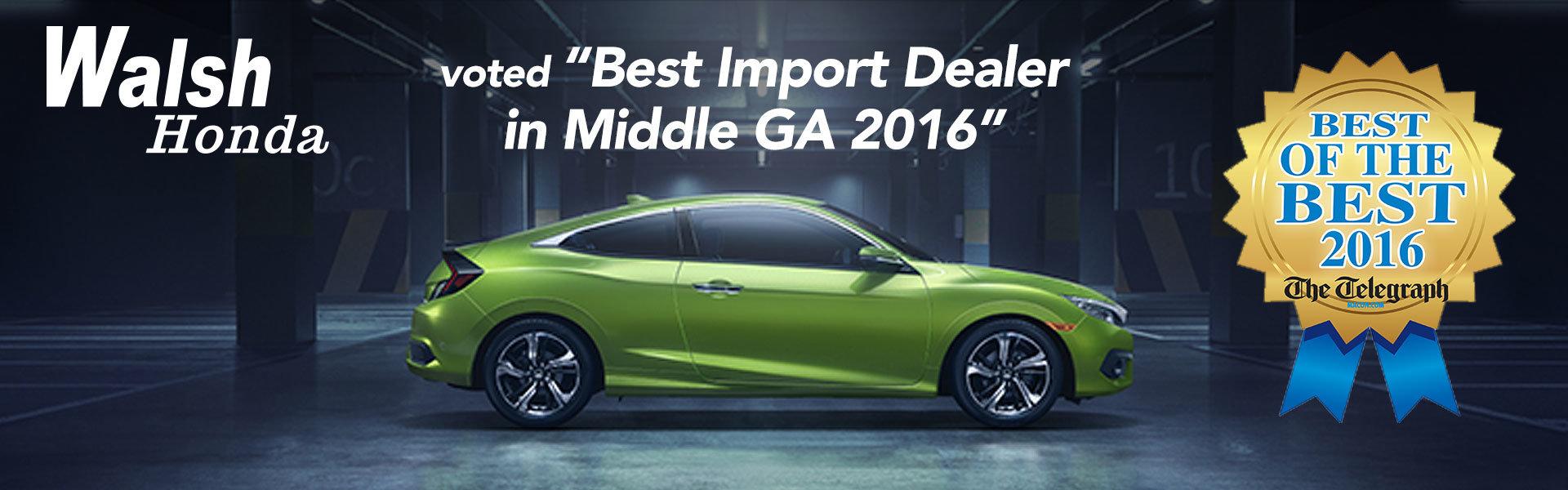 Best Import Dealer In Middle GA 2016
