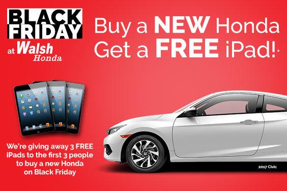 Black Friday At Walsh Honda